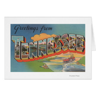 Tennessee (Riverboat Scene) Card