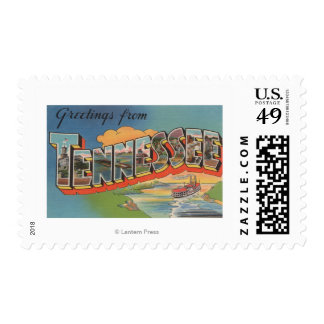 Tennessee (Riverboat Scene) Postage