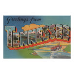 Tennessee (Riverboat Scene) Posters