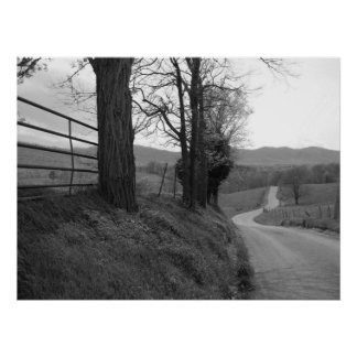 Tennessee Road Print