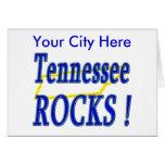 Tennessee Rocks ! Greeting Card