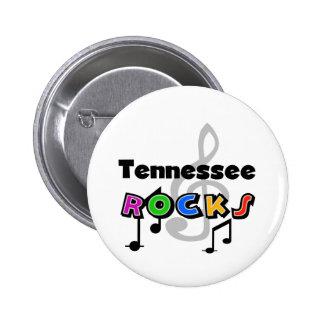 Tennessee Rocks Pinback Button