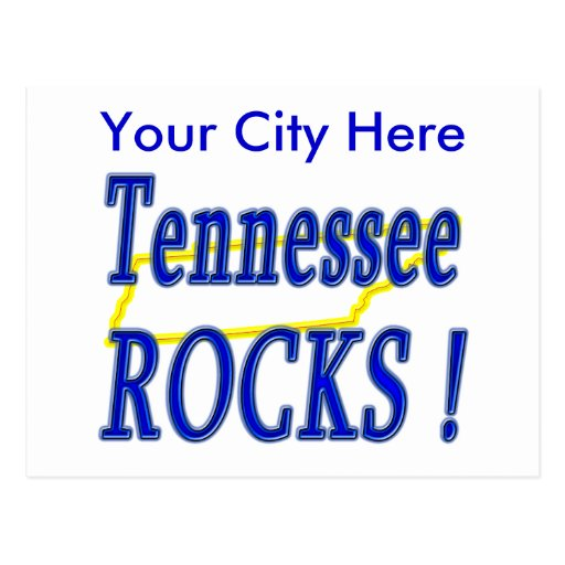 Tennessee Rocks ! Post Cards