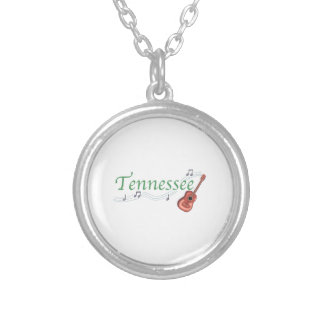 TENNESSEE ROUND PENDANT NECKLACE