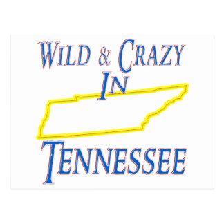Tennessee - salvaje y loco tarjetas postales