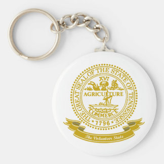 Tennessee Seal Keychain