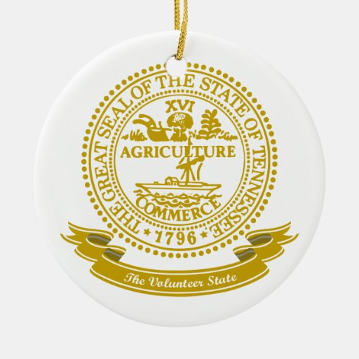 Tennessee Seal Christmas Ornament