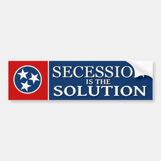 Tennessee Secession Bumper Sticker