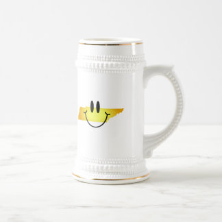 Tennessee Smiley Face 18 Oz Beer Stein