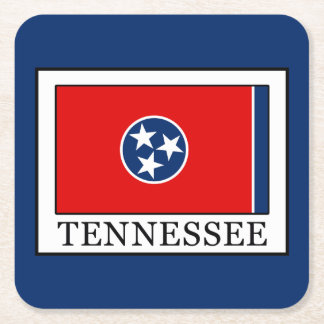 Tennessee Square Paper Coaster