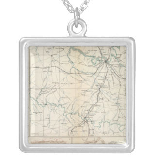 Tennessee Square Pendant Necklace