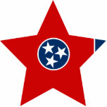 Tennessee Star Acrylic Cut Outs