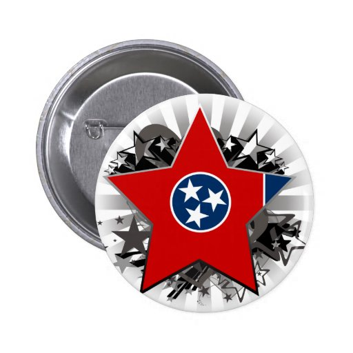 Tennessee Star Button