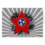 Tennessee Star Greeting Card