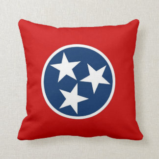 Tennessee State Flag American MoJo Pillow
