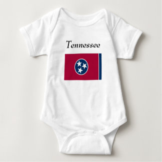 Tennessee State Flag Baby Bodysuit