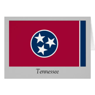 Tennessee State Flag Greeting Card