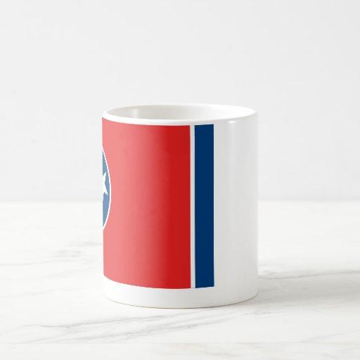 Tennessee State Flag Classic White Coffee Mug