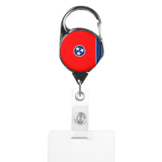 Tennessee State Flag Design Badge Holder