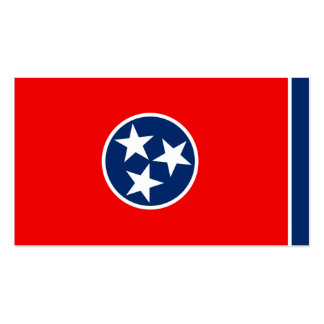 Tennessee State Flag Design Double-Sided Standard Business Cards (Pack Of 100)