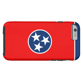 Tennessee State Flag Design Tough iPhone 6 Case