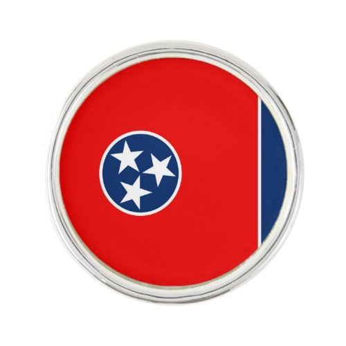 Tennessee State Flag Design Decor Lapel Pin