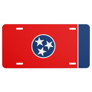 Tennessee State Flag Design Decor License Plate