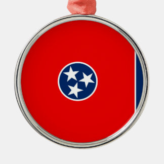 Tennessee State Flag Design Metal Ornament