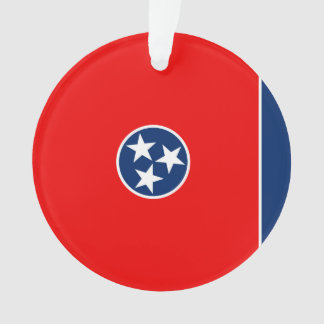 Tennessee State Flag Design Ornament