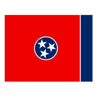 Tennessee State Flag Design Postcard