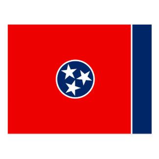 Tennessee State Flag Design Postcard