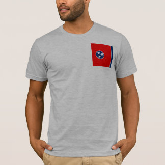 Tennessee State Flag Design T-Shirt