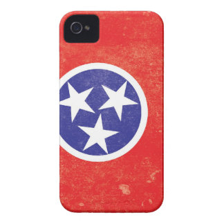 Tennessee State Flag Distressed iPhone 4 Case