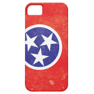 Tennessee State Flag Distressed iPhone 5 Cases