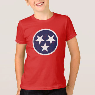 Tennessee State Flag Grunge Nashville Love T-Shirt