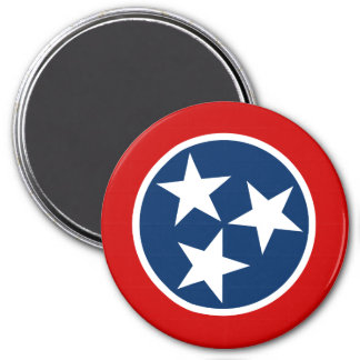 Tennessee State Flag Fridge Magnets