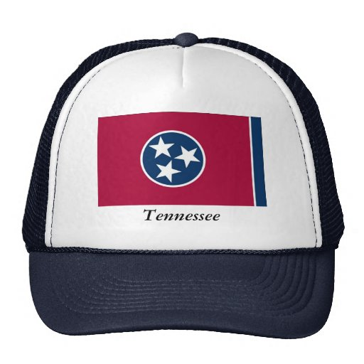 Tennessee State Flag Mesh Hats