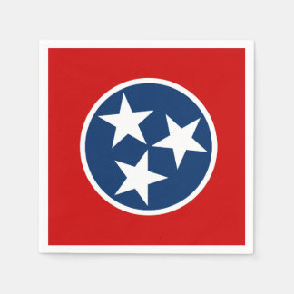 Tennessee State Flag Paper Napkin