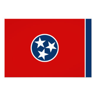 Tennessee State Flag Photo Print