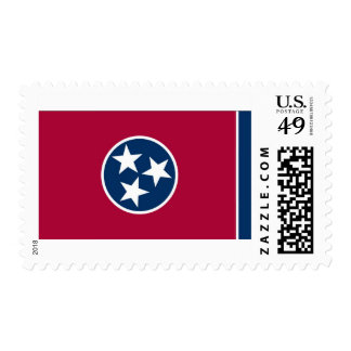 Tennessee State Flag Postage