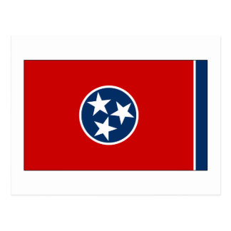 Tennessee State Flag Postcard
