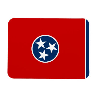 Tennessee State Flag Rectangular Magnets