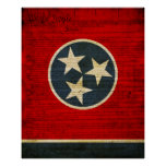 Tennessee State Flag Print