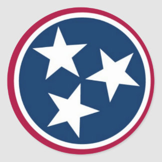 Tennessee State Flag Stickers