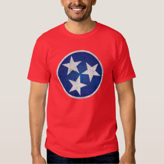 tennessee state flag t shirt