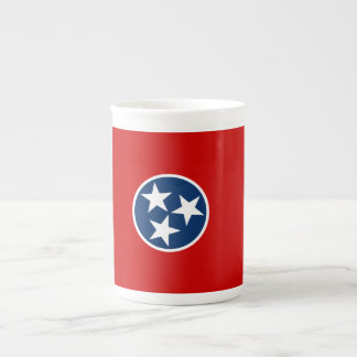 Tennessee State Flag Tea Cup