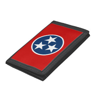 Tennessee State Flag Tri-fold Wallets