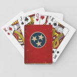 Tennessee State Flag Vintage Playing Cards at Zazzle