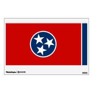 Tennessee State Flag Wall Decal