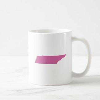 Tennessee State Outline Coffee Mug